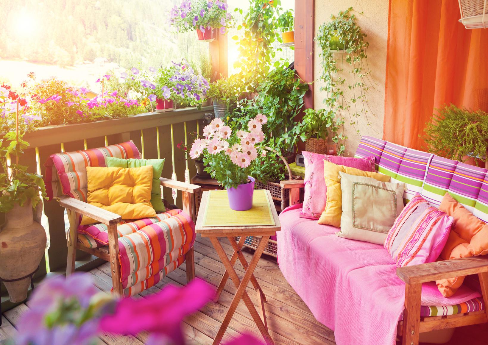 Der schöne Balkon – Ideen und Tipps zum Selbermachen ...